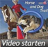 Video Horse and Dog Trail